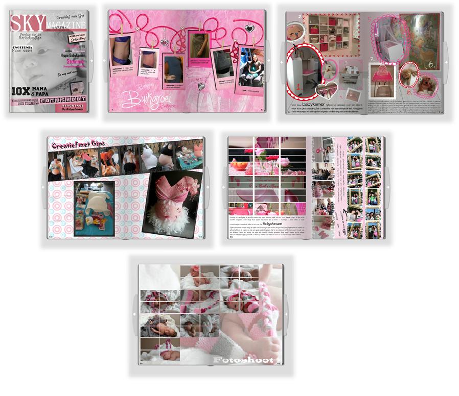 Speciaal fotoboek zwangerschap
