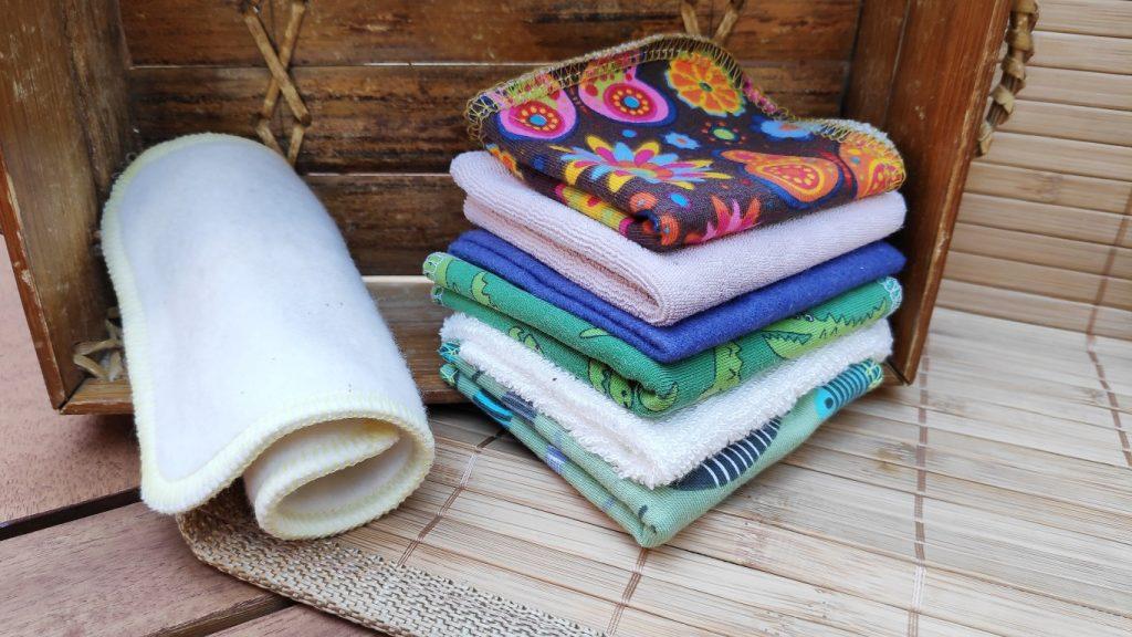 wasbare doekjes / billendoekjes en snoetenpoetsers