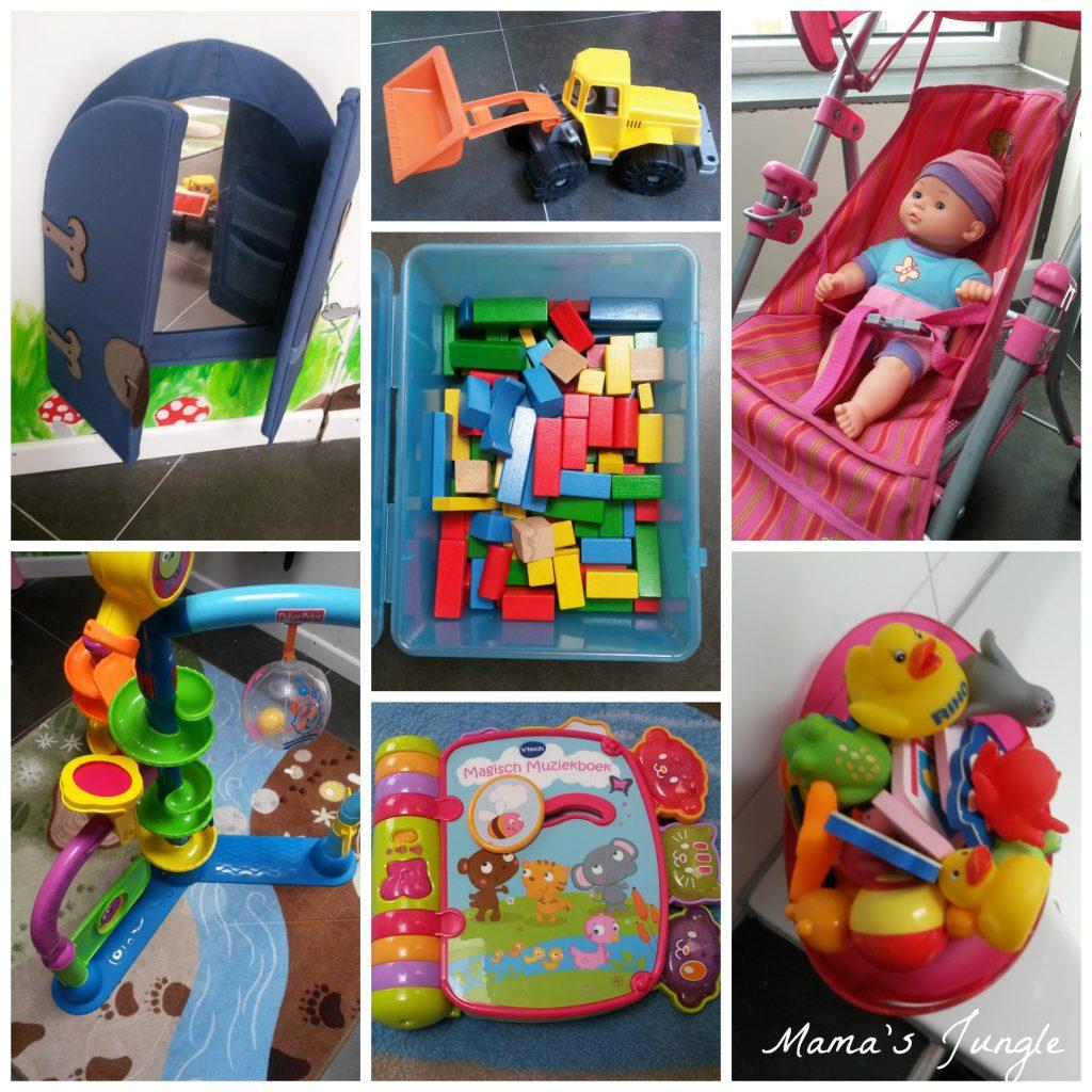Speelgoed meisje 15 maanden