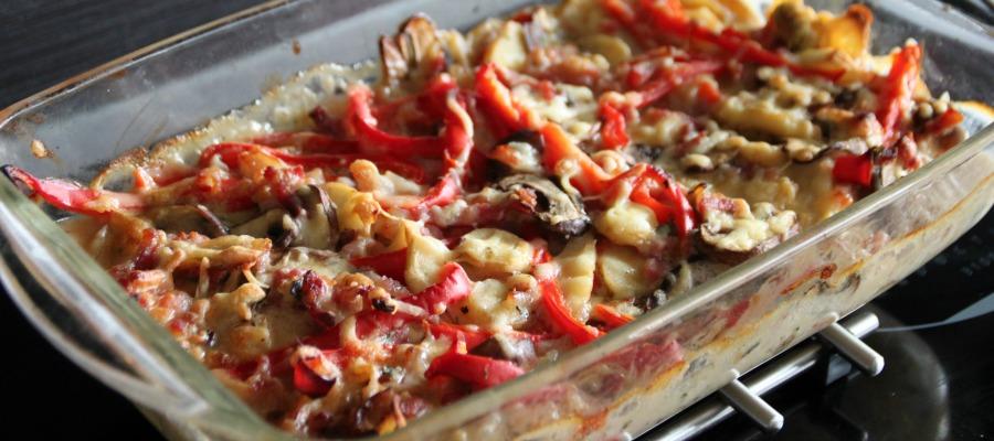 gezonde variatie aardappelanders saus