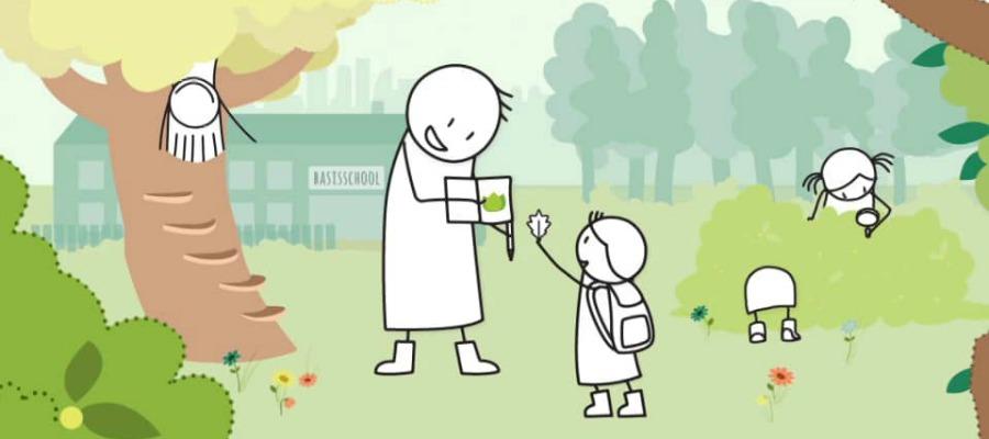 Toffe natuur zoekkaarten: buiten op avontuur met je kind*