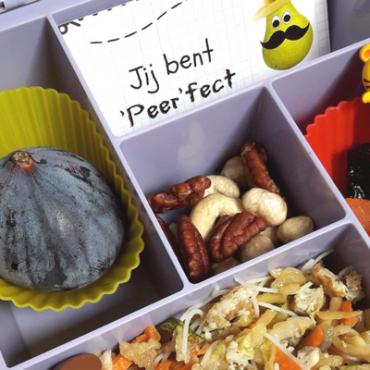 """Een gezonde """"herfst"""" lunch op school: inspiratie & tips (Bentoboxen voor beginners)"""