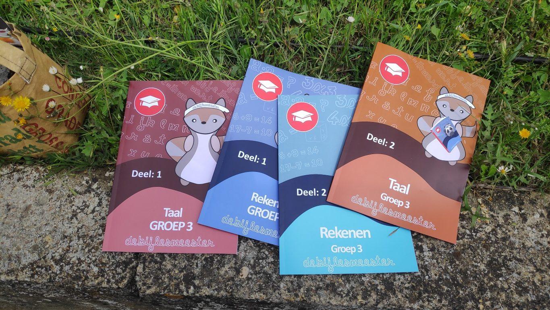 review de Bijlesmeester / leuke oefenboekjes voor kleuters