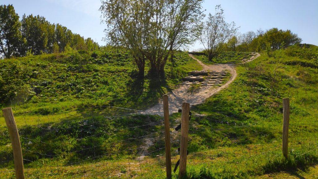 Mountainbiken in het Buytenpark Zoetermeer
