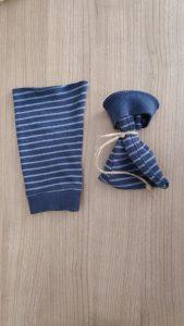 Klein zakje maken van stof