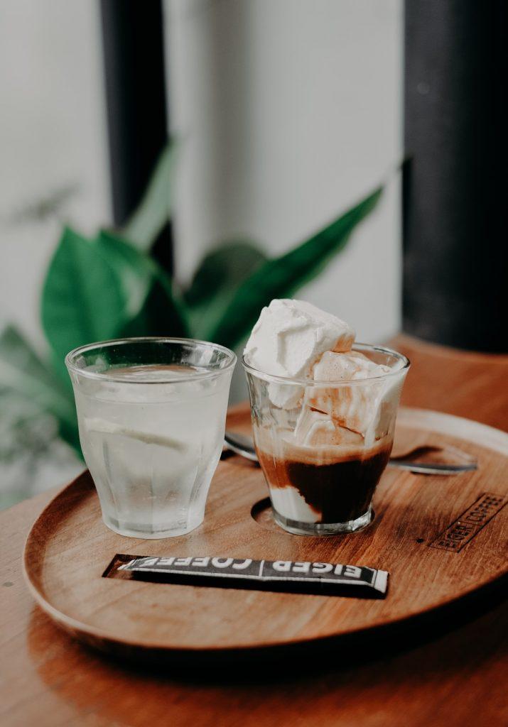 koffie met ijs