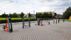 sport parkjes in Zoetermeer