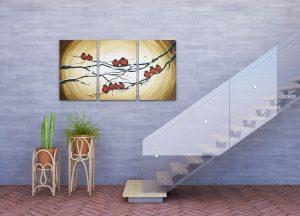duurzame traprenovatie kunst aan de muur