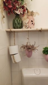 toiletrolhouder DIY macrame